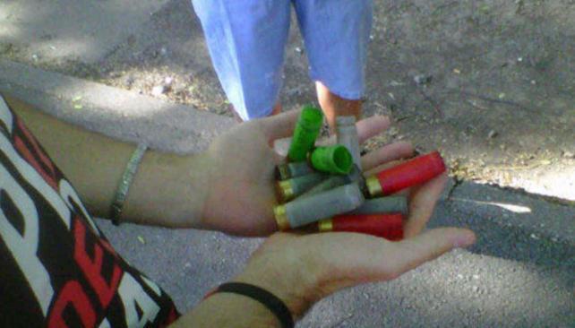 Los cartuchos alrededor del Parque Independencia (Foto: Web).