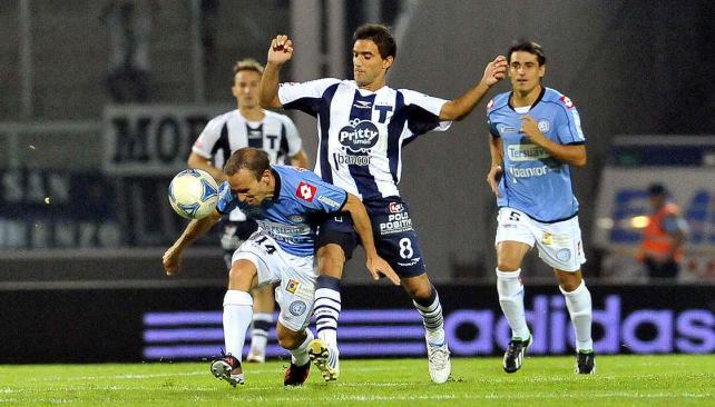 Belgrano le ganó el clásico a Talleres. (Foto: Sergio Cejas)