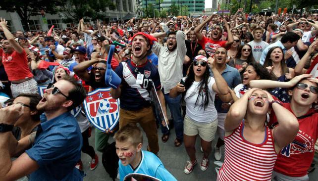 Estados Unidos, Eliminado antes de jugar con Argentina!