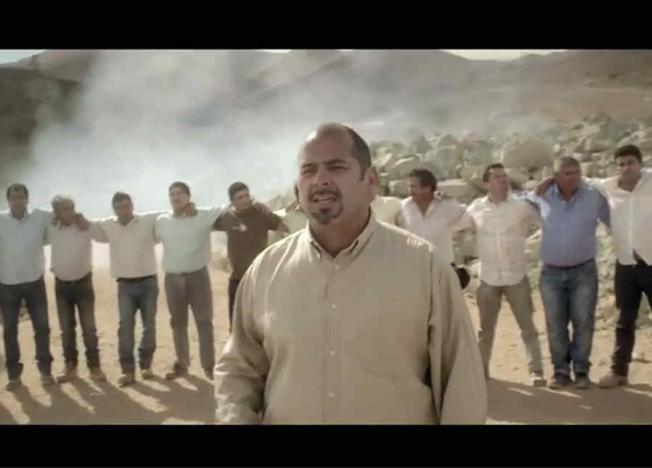 La seleccion de futbol y Los Mineros de Chile