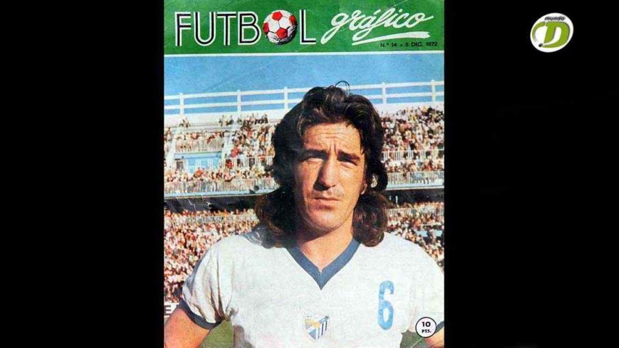 Sebastián Viberti, tapa de la revista española Fútbol Gráfico, del 5 de diciembre de 1972. (Foto: La Voz).