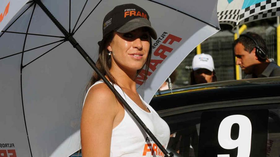 Las promotoras más lindas del Súper TC 2000 (Foto: prensa Súper TC 2000).