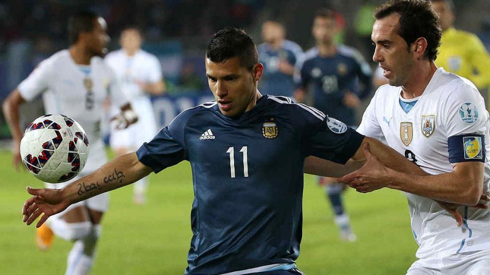 Argentina venció a Uruguay. (Foto: Télam)