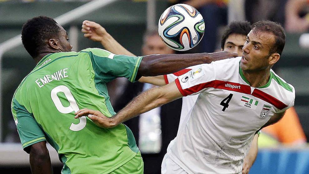 Nigeria e Irán igualaron en cero (Foto: AP).